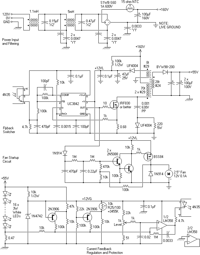 Difficulty repairing UC3842 power supply    - Page 2