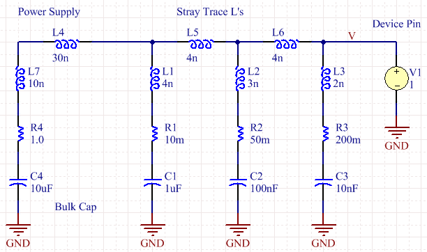 Line Drawing Fallacy Example : What are these capacitors for page